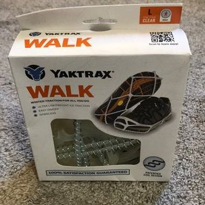 Yak track walk winter traction shoe cover